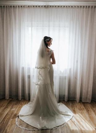 Продам шикарну весільну сукню італійського бренду daniela di marino (esperanza collection 2021)