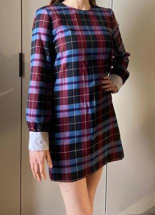 Плаття платье в клітку