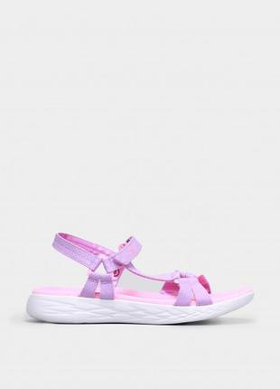 Оригінальні дитячі сандалі skechers on go 600 – summer sense (302117l lvpk)