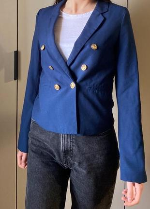Піджак синій пиджак с