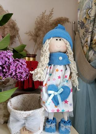 Кукла с кашпо