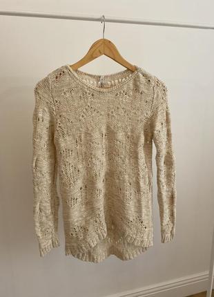 Вязанная свитер stradivarius