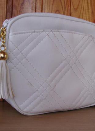 Маленькая белая сумка debenhams