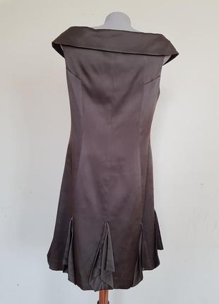 Шикарное вечернее коктейльное платье шёлк karen millen5 фото