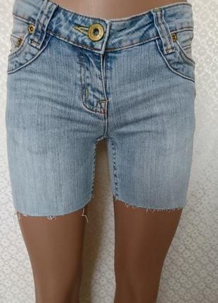 Джинсовые шорты new look