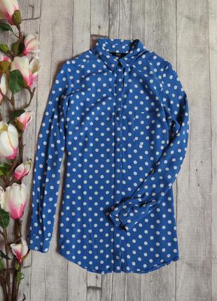 Крутая блуза в горох фирмы f&f