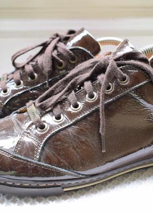 Кожаные кеды мокасины кроссовки туфли слипоны navyboot р.41 27 см