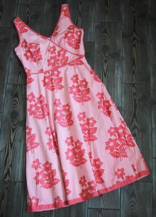Плаття міді з квітковим принтом в стилі вінтаж ретро
