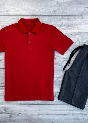 Чоловічий комплект футболка + шорти