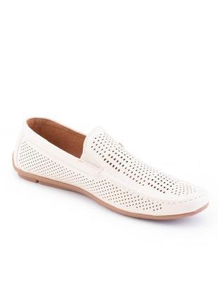 Мужские летние туфли с перфорацией2 фото