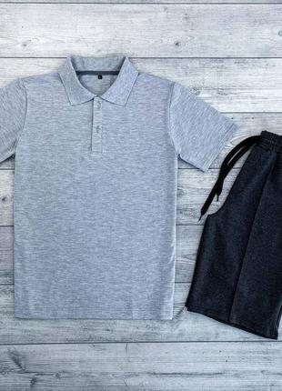 Чоловічий комплект шорти+футболка