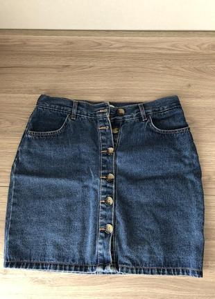 Джинсовая юбка pull&bear