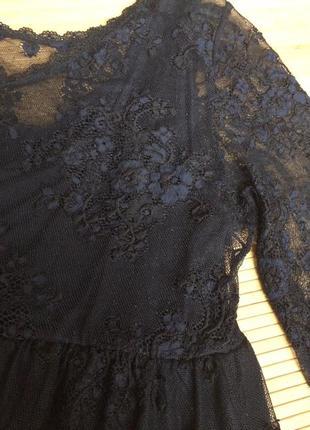 Стильное гипюровое платье,размер xl2 фото