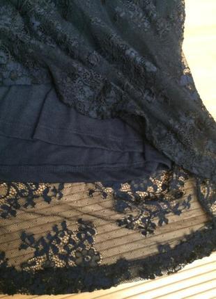Стильное гипюровое платье,размер xl3 фото