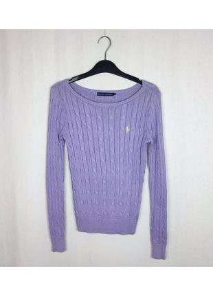 Женский пуловер свитер ralph lauren