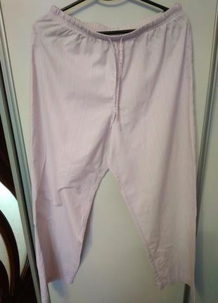 Пижамные штаны, размер 50