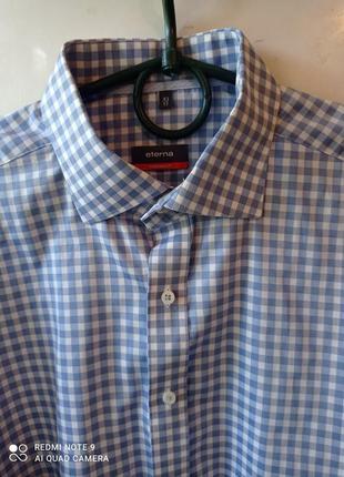 Стильная мужская рубашка  от бренда eterna
