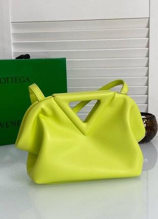 Женская кожаная сумка в стиле bottega veneta💥натуральная кожа