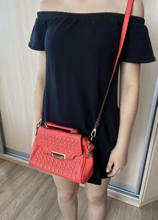 Оранжевая сумка2 фото