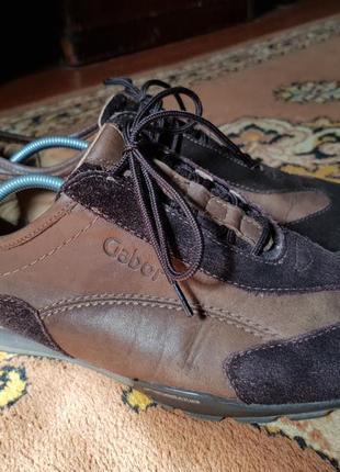 Мужские кожаные туфли gabor