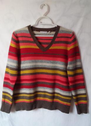 Джемпер, пуловер 100% шерсть  m&s