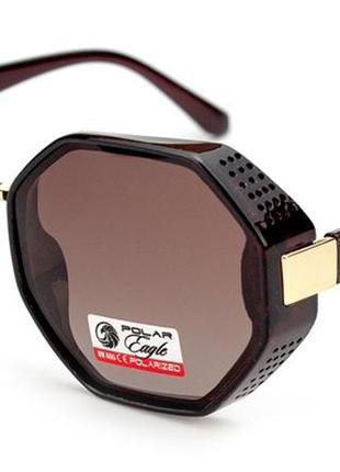 Трендовые солнцезащитные очки с шорами