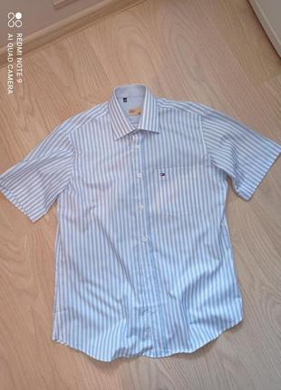 Красивая рубашка tommy hilfiger denim
