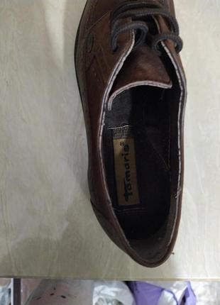 Туфли оксфорды коричневые5 фото