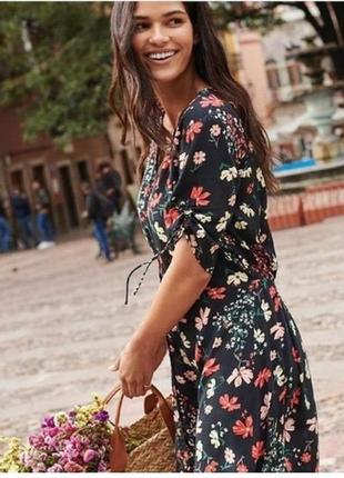 Очень красивое платье в цветочный принт