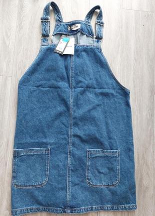 Комбинезон джинсовый new look