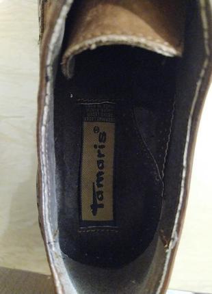 Туфли оксфорды коричневые6 фото