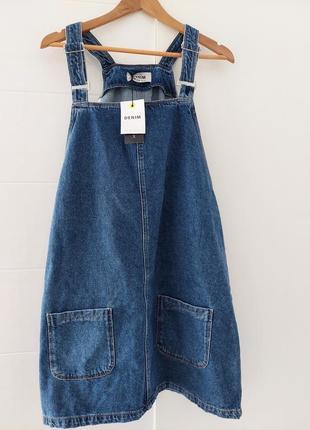 Комбинезон джинсовый new look5 фото