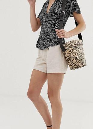 Блузка на запах otherstories, летняя блуза3 фото