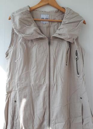 Лен🤗. сарафан платье халат.xl. 06