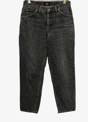 Серые графитовые джинсы mom lee оригинал