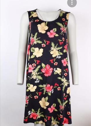 Платье в цветы, розы платье вискоза