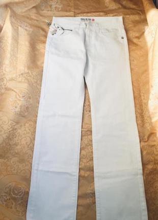 Итальянские летние джинсы брюки