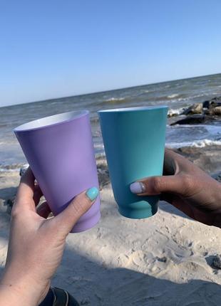 Набор стаканов аллегро tuppeware 450 мл