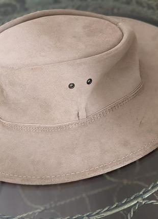 Кожаная ковбойская шляпа австралия оригинал scippis