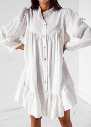 Платье на пуговицах6 фото