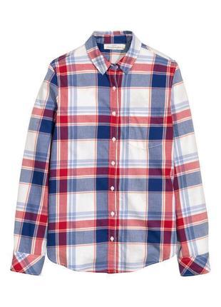 100% хлопок! рубашка h&m l.o.g.g.