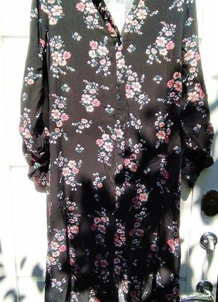 Стильное летнее платье рубашка из лёгкой ткани бренда  house
