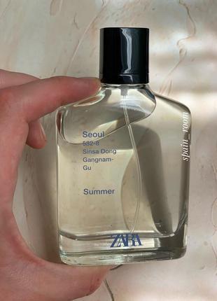 Духи zara seoul summer/чоловічі парфуми/туалетна вода /парфюм2 фото