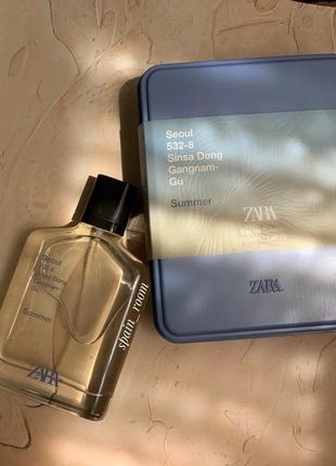 Духи zara seoul summer/чоловічі парфуми/туалетна вода /парфюм3 фото