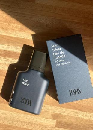 Мужские духи zara silver /чоловічі парфуми /туалетна вода /парфюм4 фото
