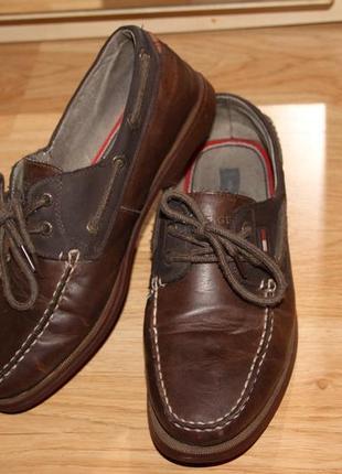 Туфли мокасины tommy hilfiger 43 р
