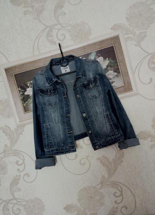 Джинсовая куртка, пиджачок