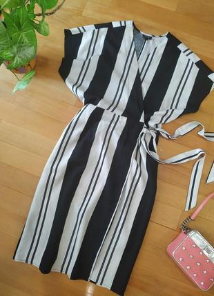 Красивое льняное платье миди topshop