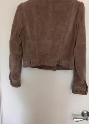 Продам кожаную куртку/косуху h&m3 фото