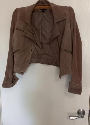 Продам кожаную куртку/косуху h&m2 фото